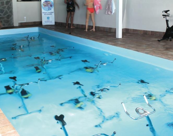 LES TROIS BLEUS : 100% aquabiking