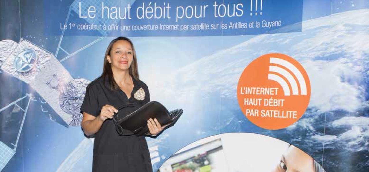 DOSSIER – CARIBSAT : Maryse Coppet « Rendre à mon pays ce qu'il m'a donné »