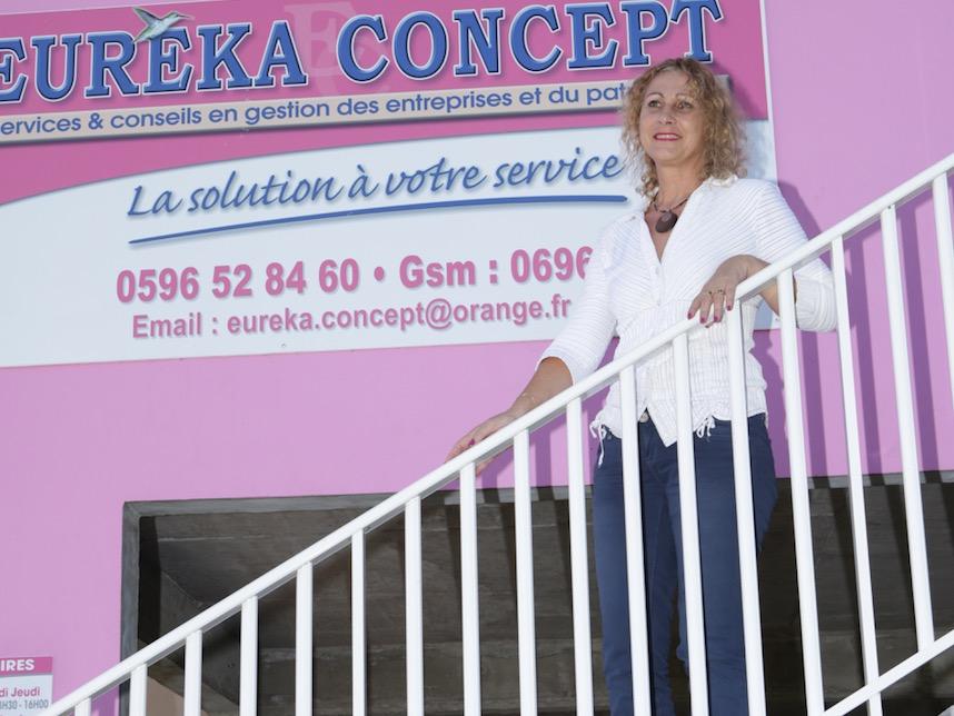 DOSSIER / CREATION D'ENTREPRISE : Eurêka Concept, l'énergie d'une battante au service de ses clients