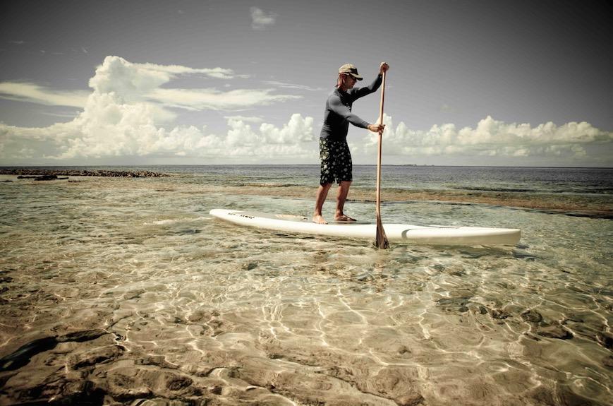 Avec SUPin' Gwada, le Stand up Paddle a le vent en poupe