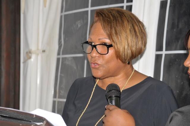 Les Vœux de la Présidente du Ceser Guyane, Ariane Fleurival, le 06 février 2015