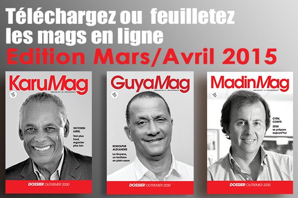 Mags interactifs : éditions Mars Avril 2015