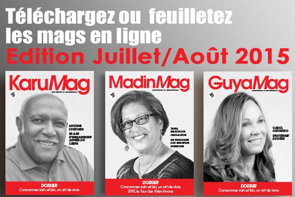 Mags en e-publication Edition Juillet Août 2015