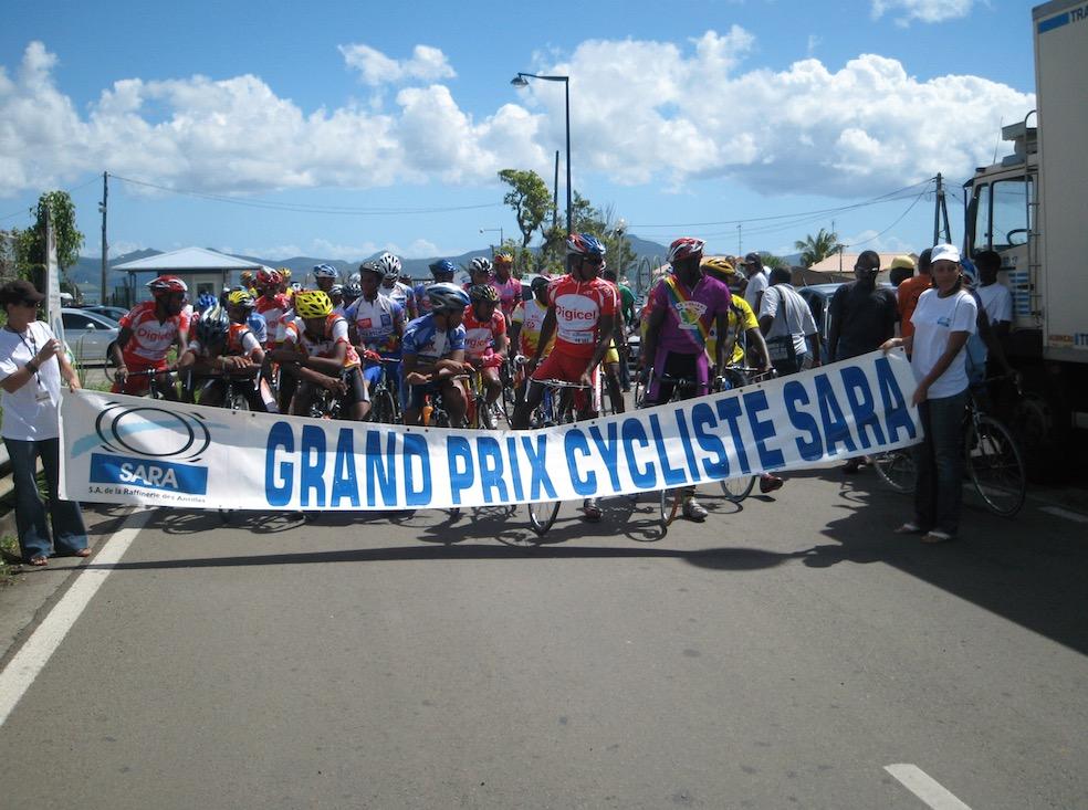 La SARA et le Tour cycliste de la Guadeloupe