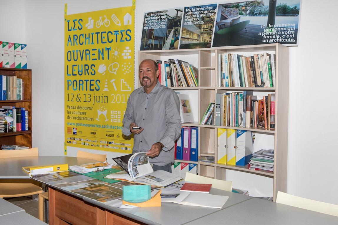 Didier Bergen : une passion pour l'architecture