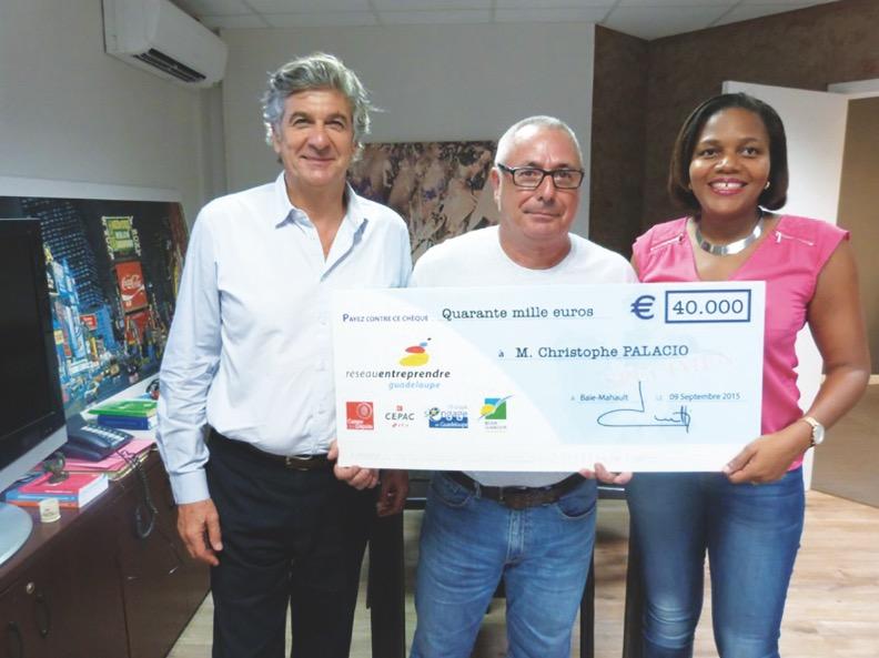 Un lauréat de réseau Entreprendre Guadeloupe