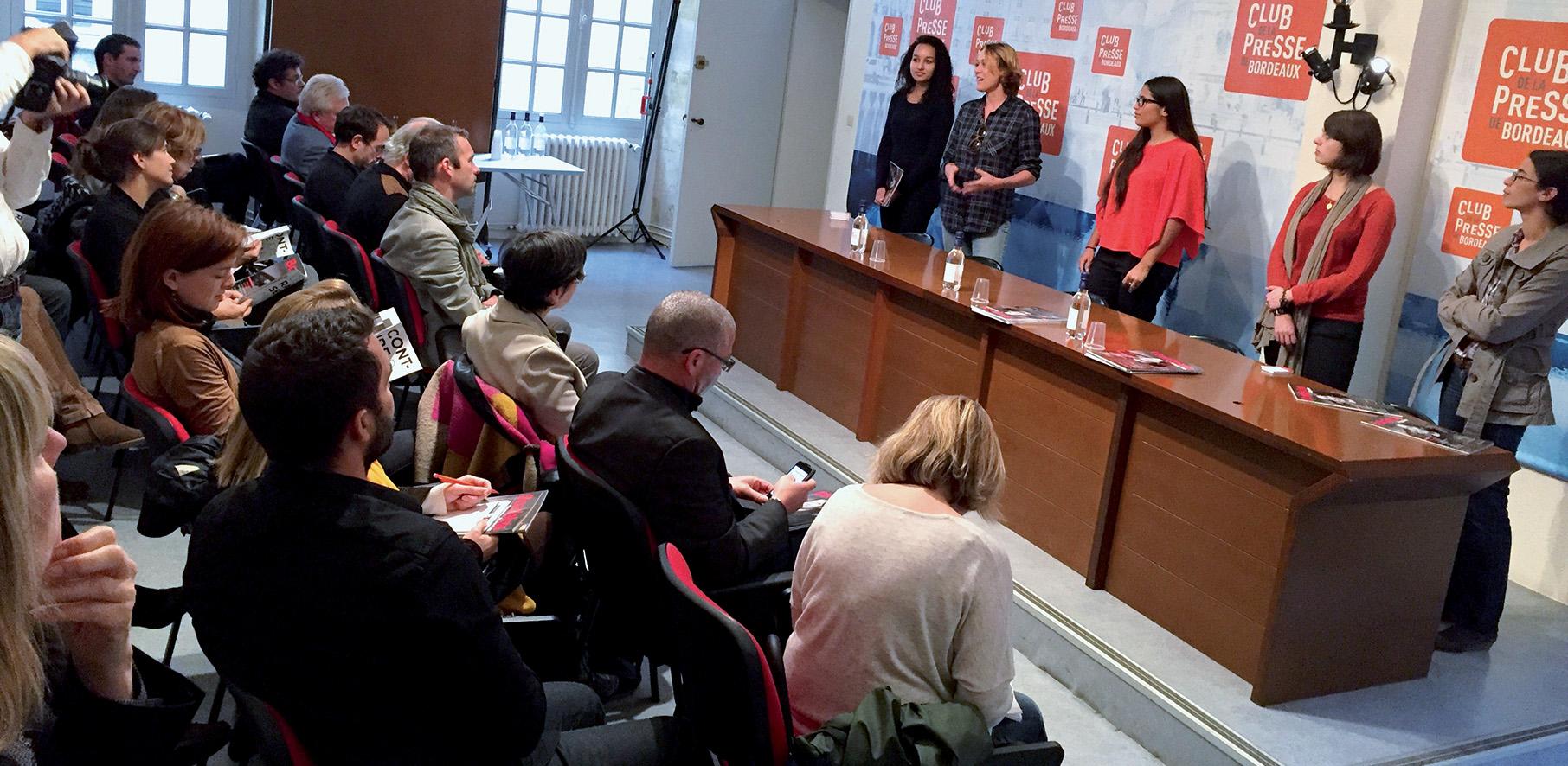 Le Club de la Presse de Bordeaux, au service de l'info !