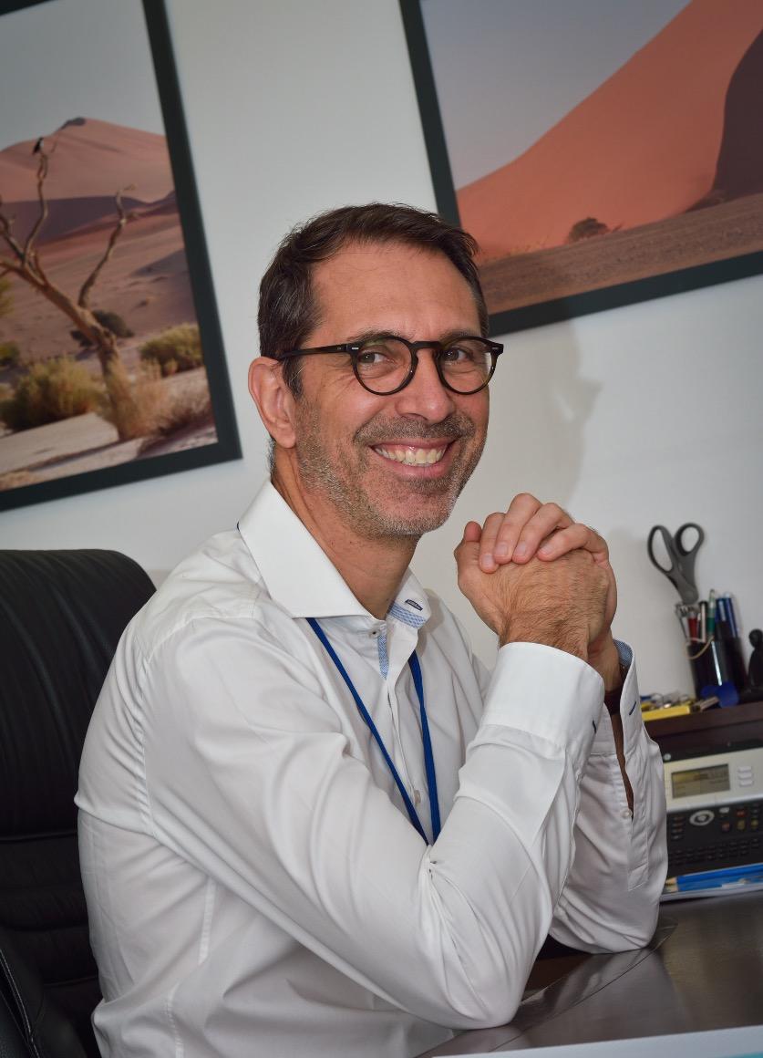 Laurent Bousin - directeur général SEMAG - Guadeloupe
