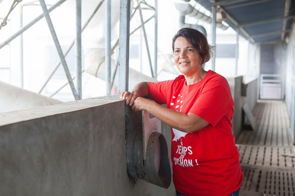 Danielle Techer, l'éleveuse qui milite  pour une agriculture 100% locale