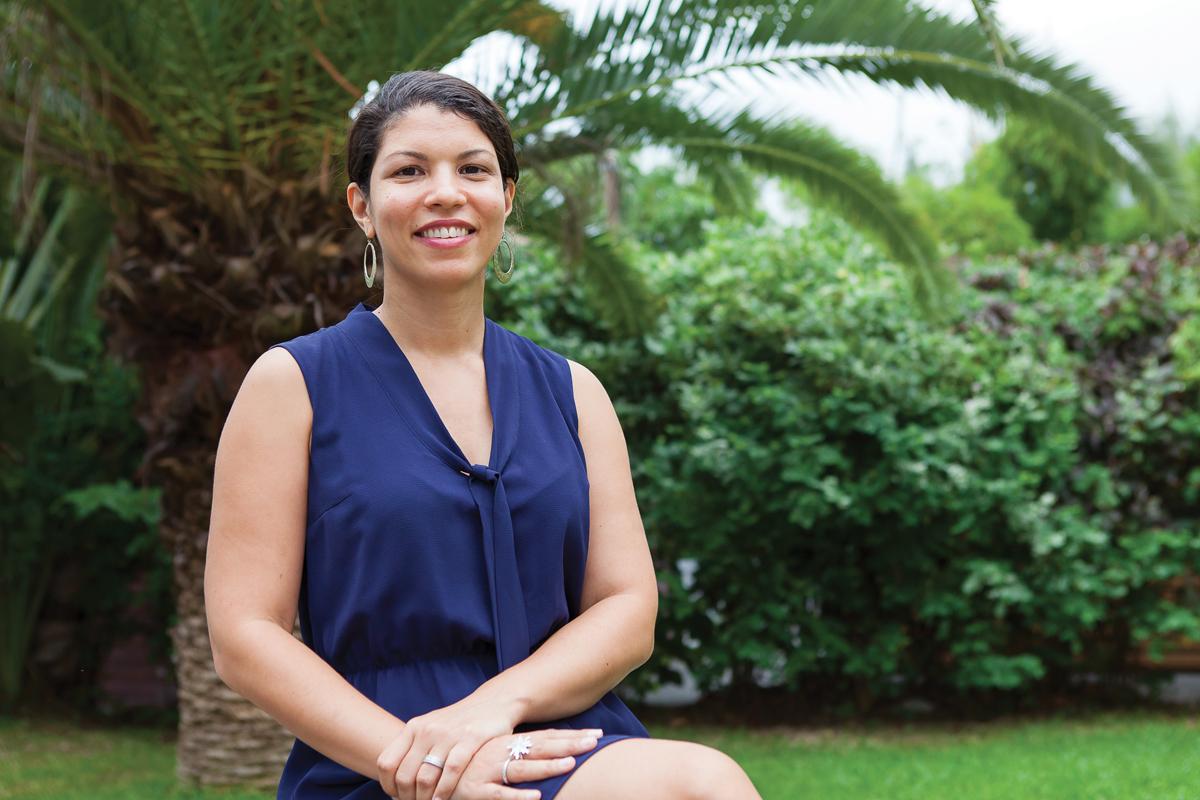 Vanessa Miranville, l'idéaliste déterminée