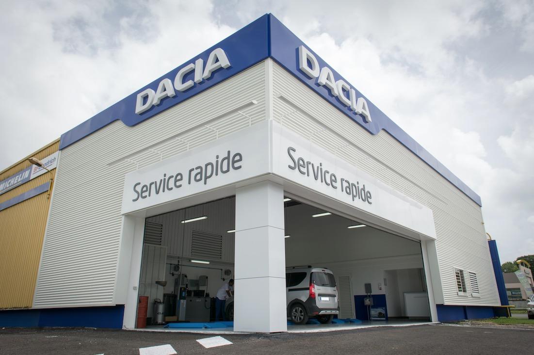 Dacia service rapide : plus proche, plus vite !