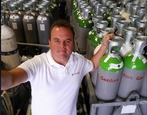 Gazdom, fournisseur de gaz industriels