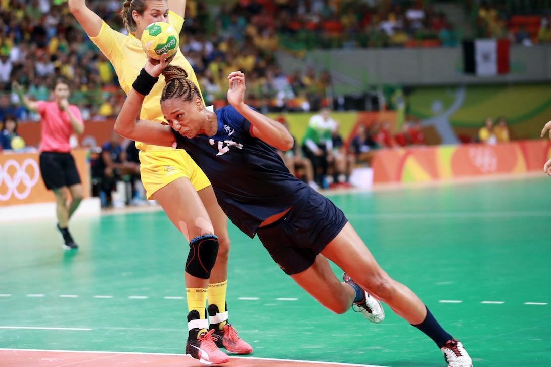 Béatrice Edwige, une Guyanaise médaillée olympique !