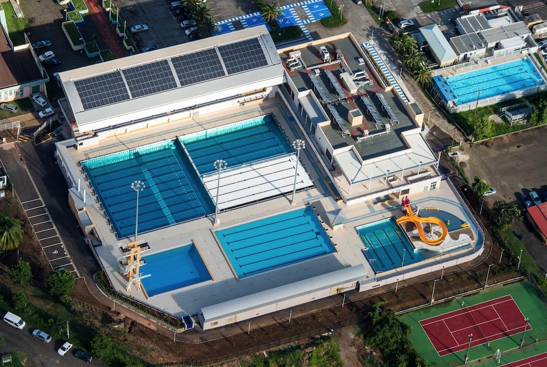 Centre aquatique du Lamentin : un lieu de vie à part entière