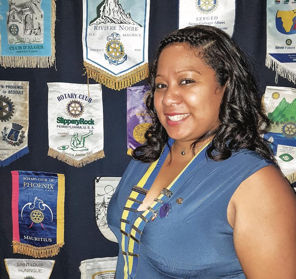 Laurence Thélis Jeune Présidente de Rotary Club
