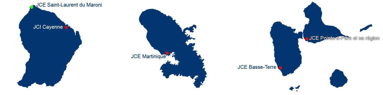 Fédération des JCE de la Guyane et des Antilles Françaises : des actions inédites au service des territoires !
