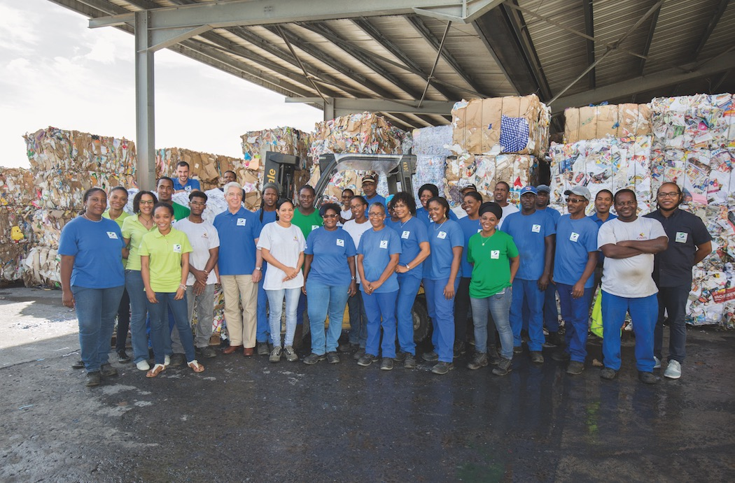 Martinique Recyclage : trier, conditionner, exporter