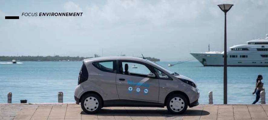 Dossier environnement : Bluecar, Citroën Guadeloupe se met au vert