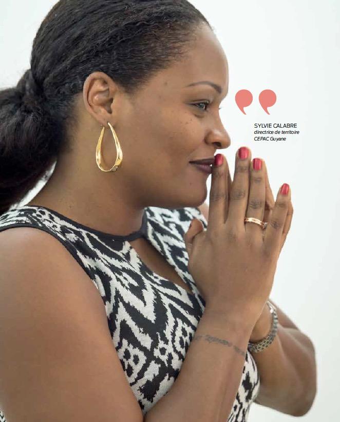 CEPAC Guyane : Sylvie Calabre « Cette fusion est un facilitateur de développement »