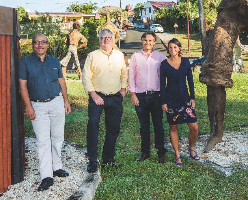 Le cabinet ECAM ouvre une nouvelle agence aux Trois Ilets