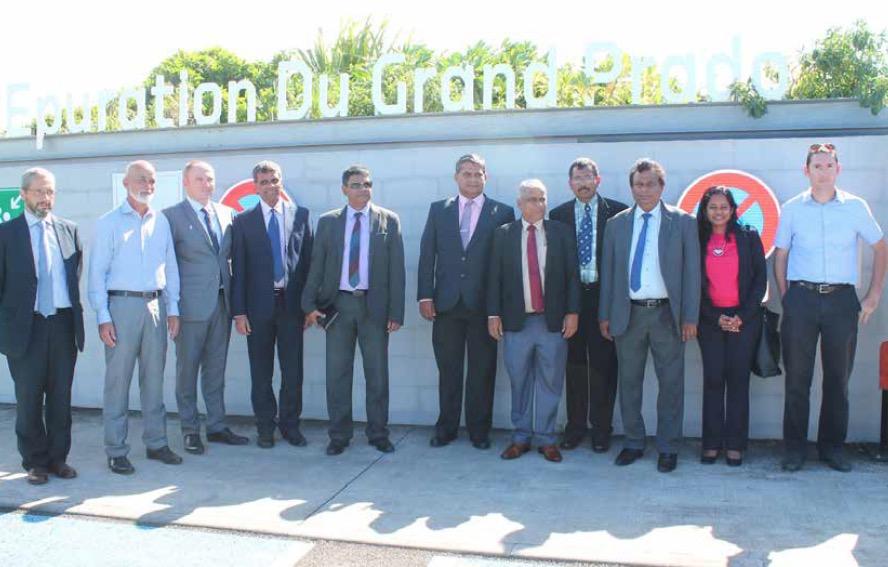 Environnement     une délégation sri-lankaise à la découverte de la STEP du Grand Prado