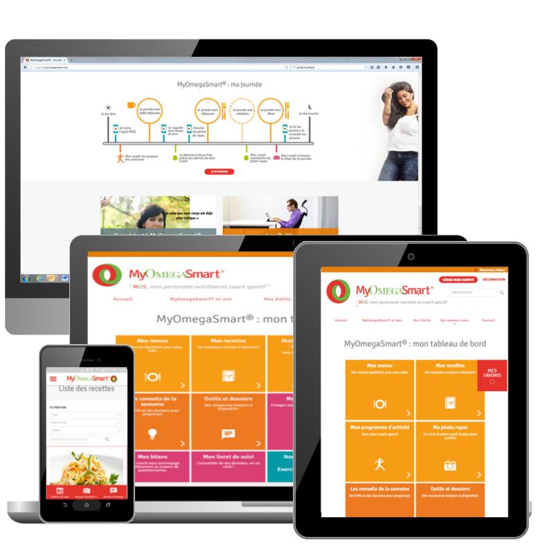 MyOmegaSmart, l'application santé et bien-être dont vous êtes le héros
