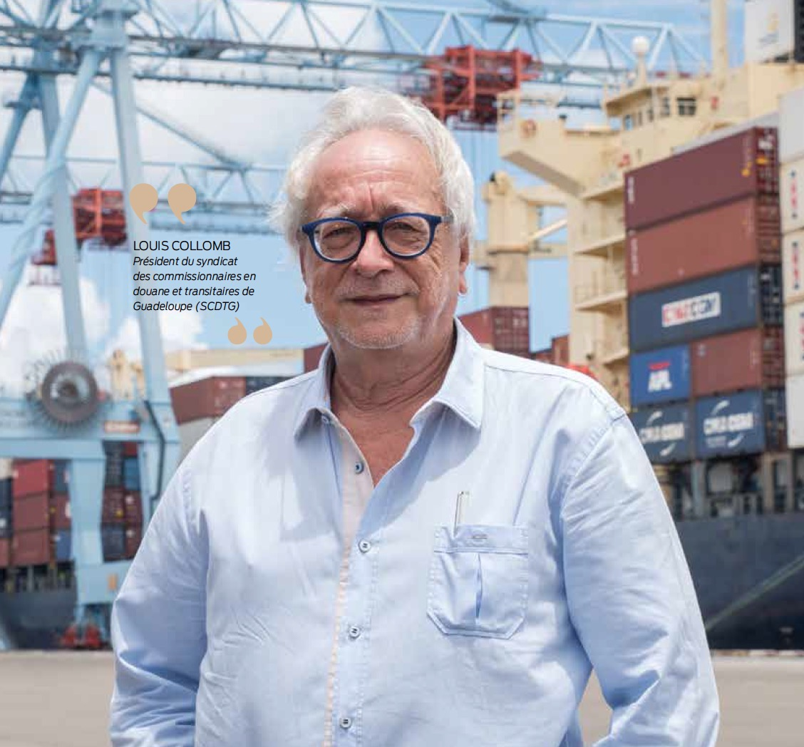Dossier transport : syndicat des commissionnaires en douane et transitaires de Guadeloupe