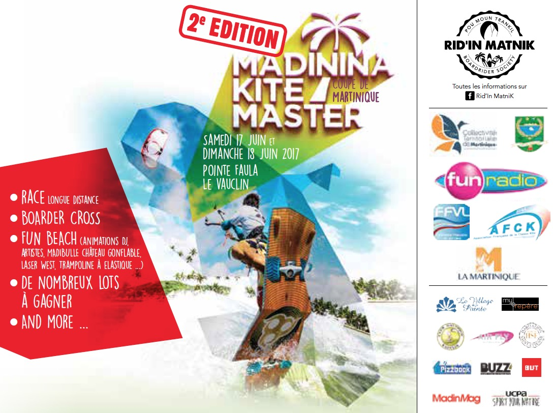 Madininakite Master 2 : le kite surf en compétition