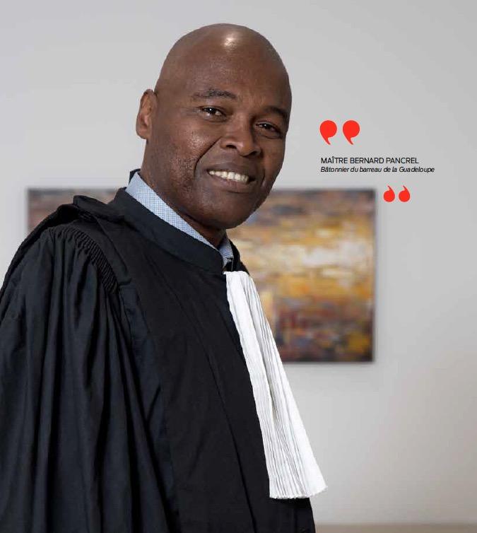 Maître Bernard Pancrel : un nouveau bâtonnier pour la Guadeloupe