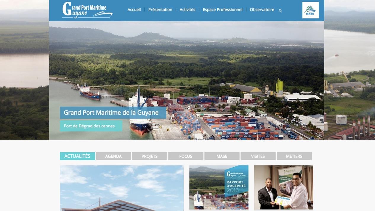 Dossier nautisme : les e-services du Grand Port Maritime de Guyane