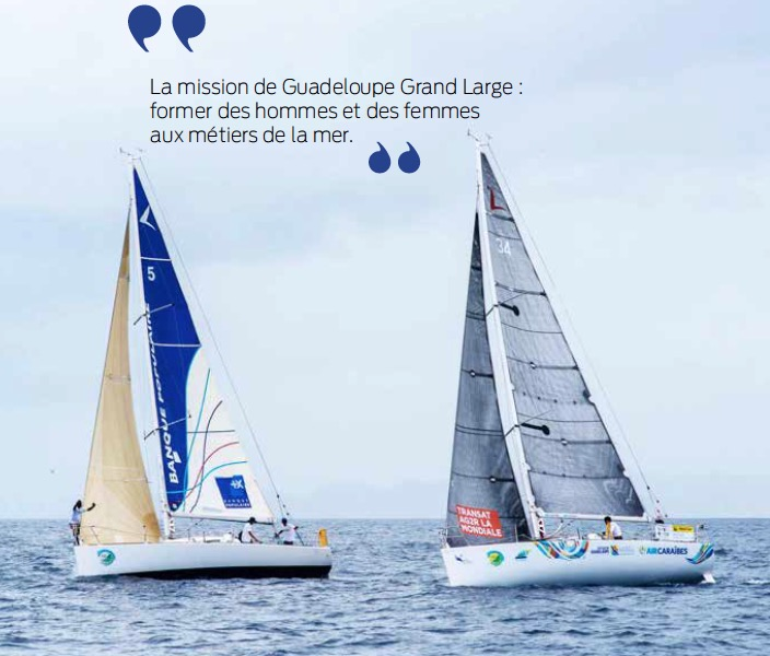 Dossier nautisme : G2'L Formation, l'esprit conquérant grand large