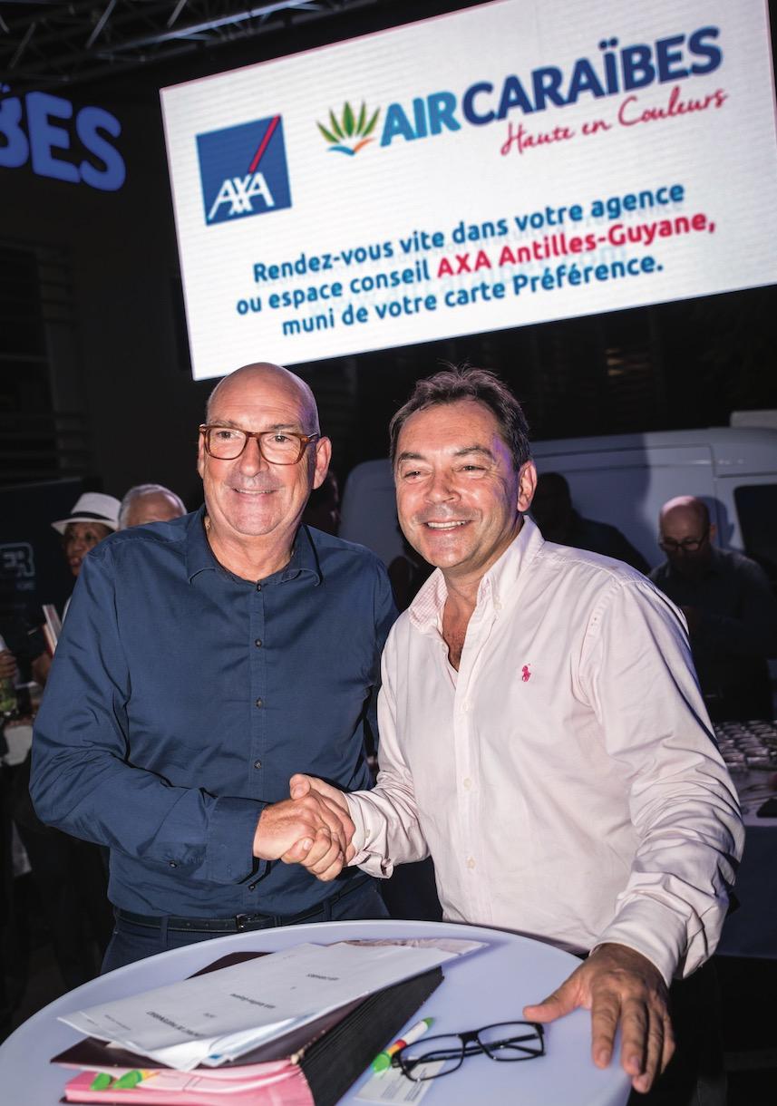 Air Caraïbe et AXA Antilles-Guyane : ils assurent !