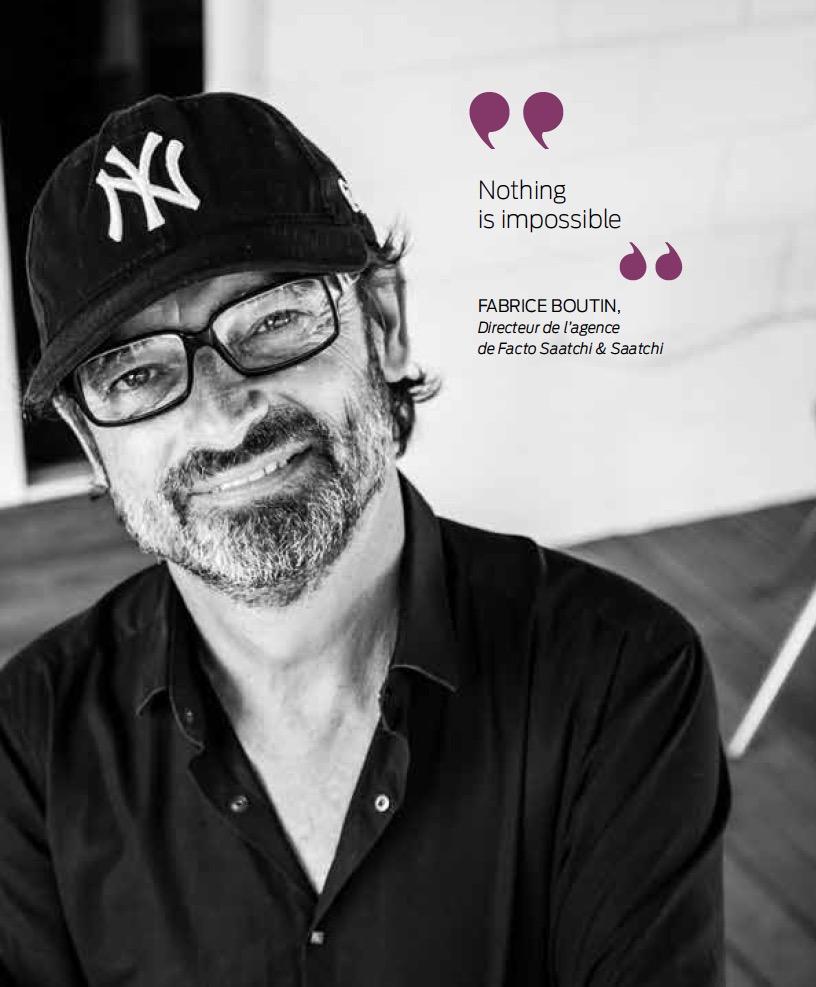 Fabrice Boutin : the Artist
