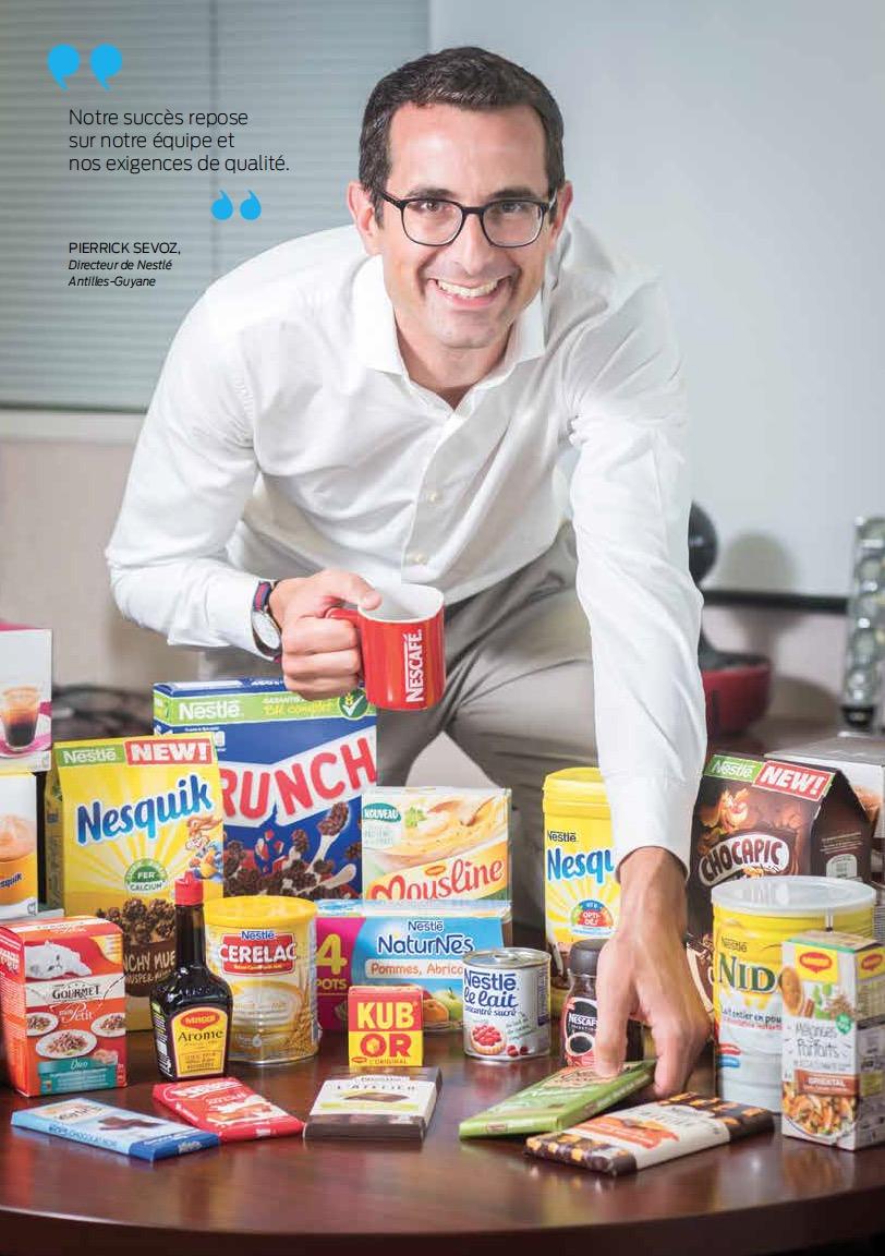 Nestlé fête ses 50 ans de présence aux Antilles-Guyane