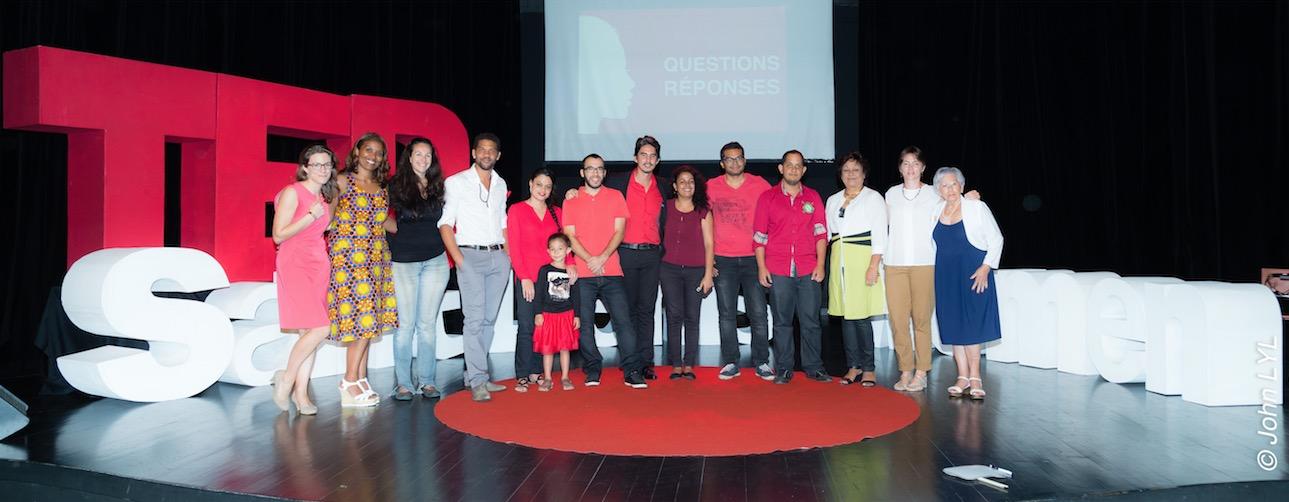 Oser au TEDxSaintDenisWomen 2017