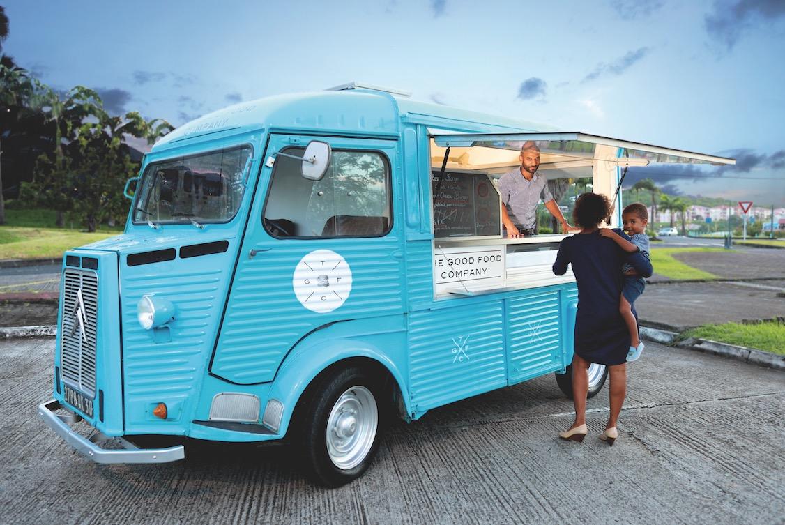 Dossier séduction des Outre-mer : The Good Food Company, des burgers premium sillonnent la Martinique !