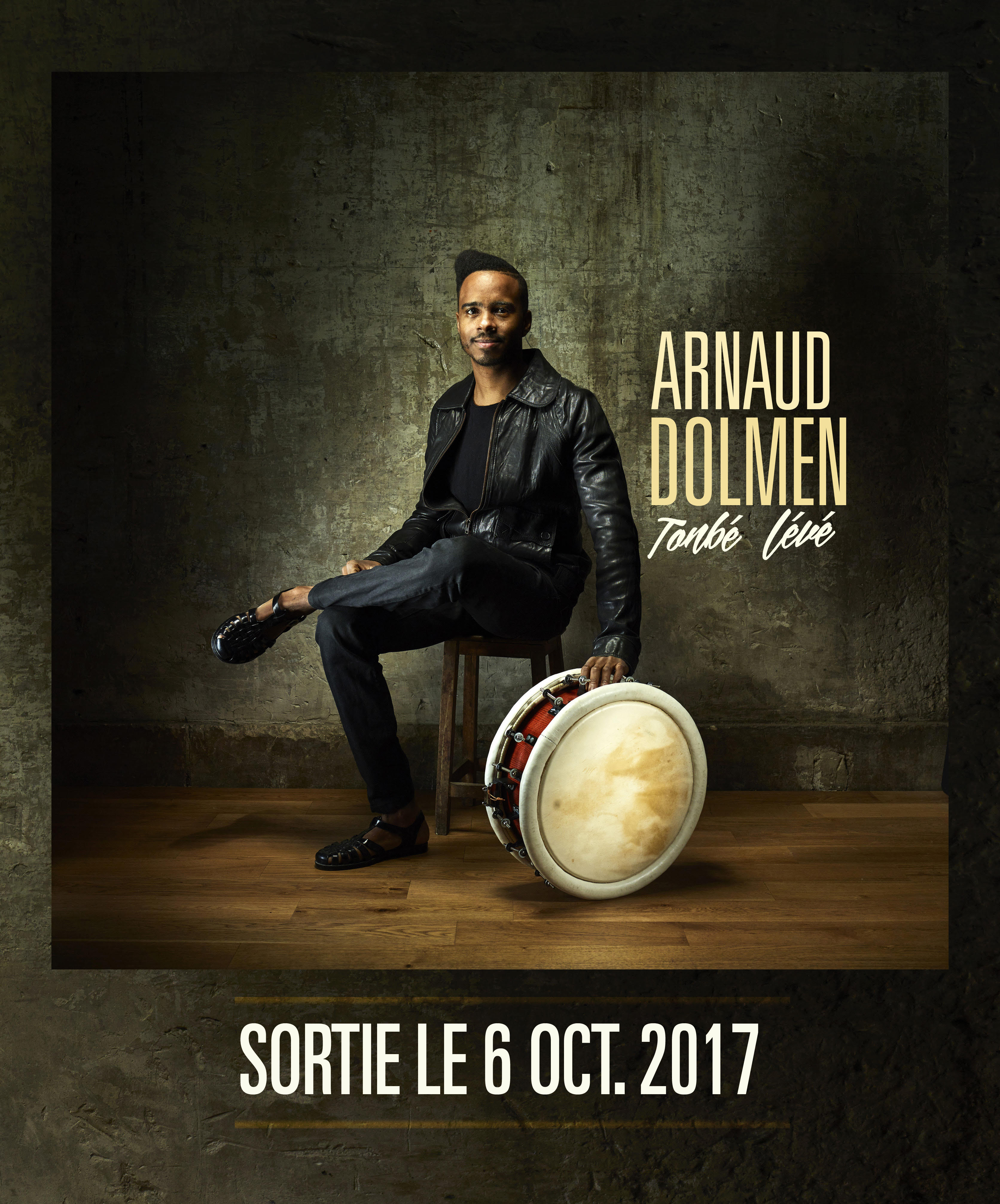 Sortie du premier album d'Arnaud Dolmen le 6 Octobre
