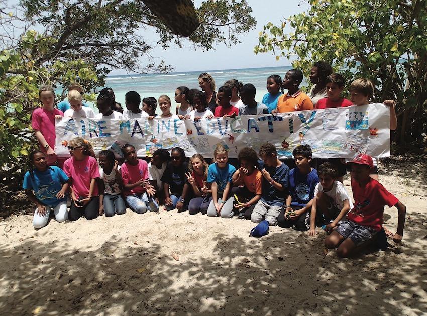 Dossier séduction des Outre-mer : mon école ma baleine, l'or bleu de la Guadeloupe