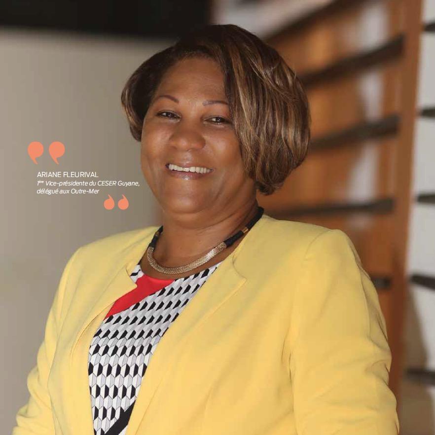 Ariane Fleurival : une présidence enrichissante et assumée au CESER