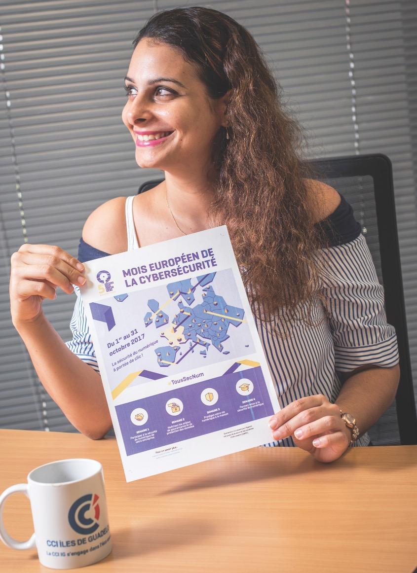 Dossier territoires connectés : CCI IG, cybersécurité des entreprises un enjeu primordial