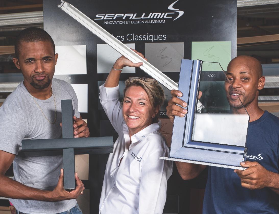 Sépalumic : la menuiserie aluminium design et anticyclonique