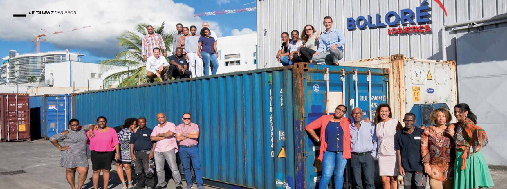 Bolloré Logistics : acteur international en Martinique
