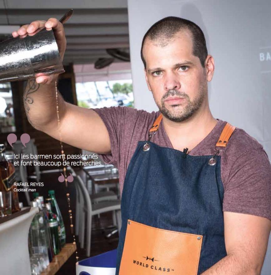 Vinothèque : Rafael Reyes, un passionné de cocktails*