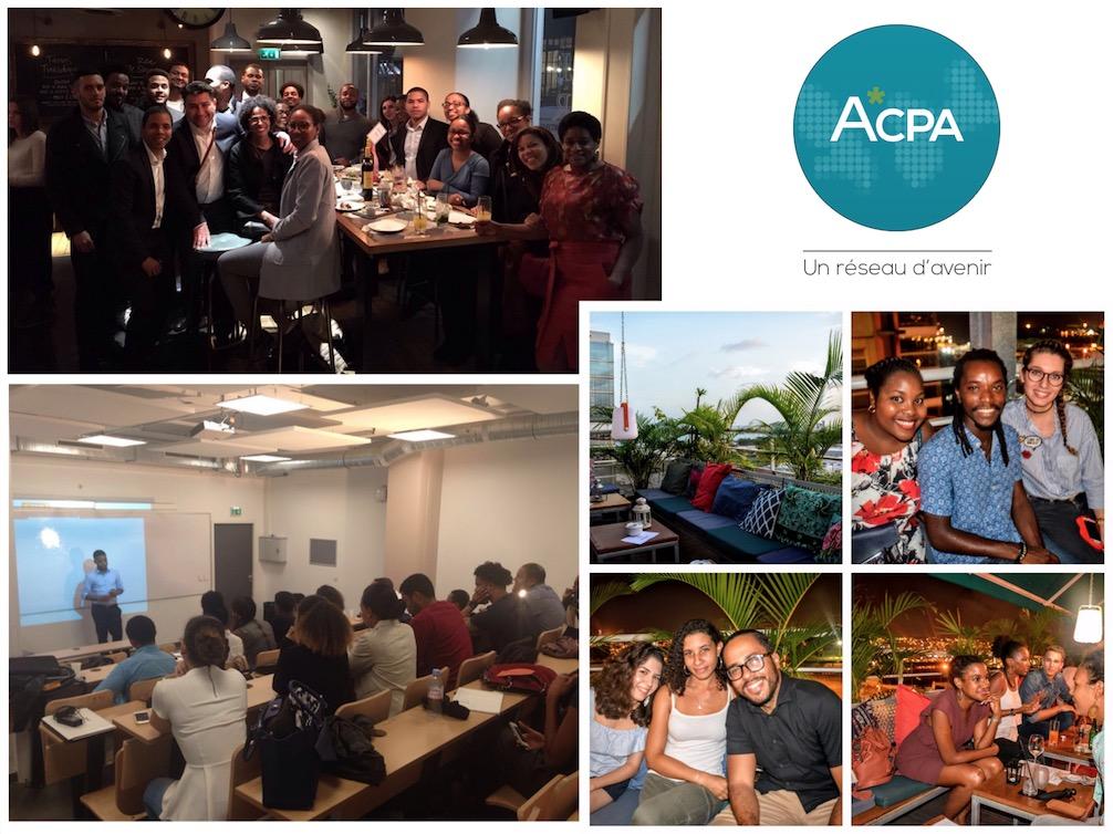 Apéros de networking de l'ACPA, qui aide au retour au pays