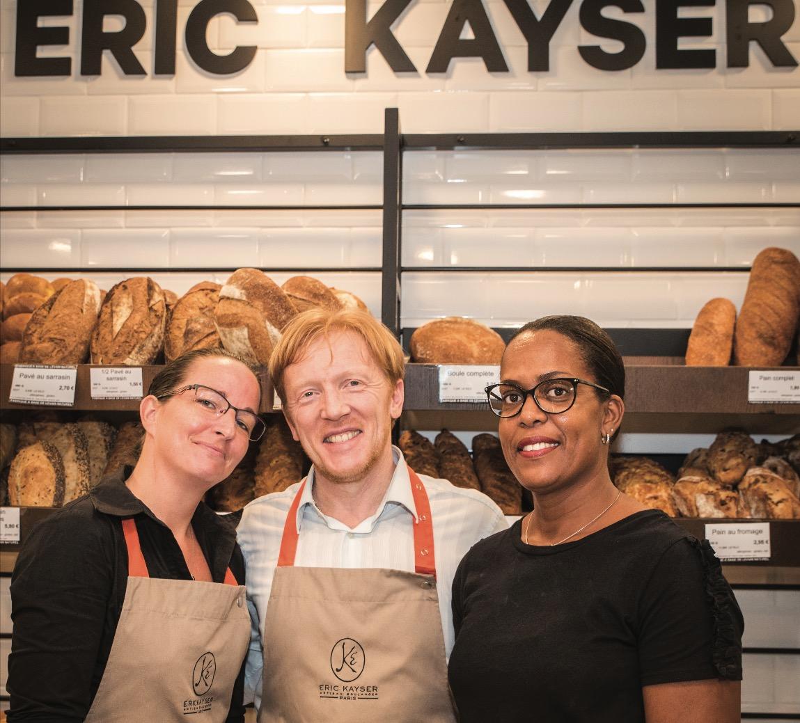 Eric Kayser: la main à la pâte