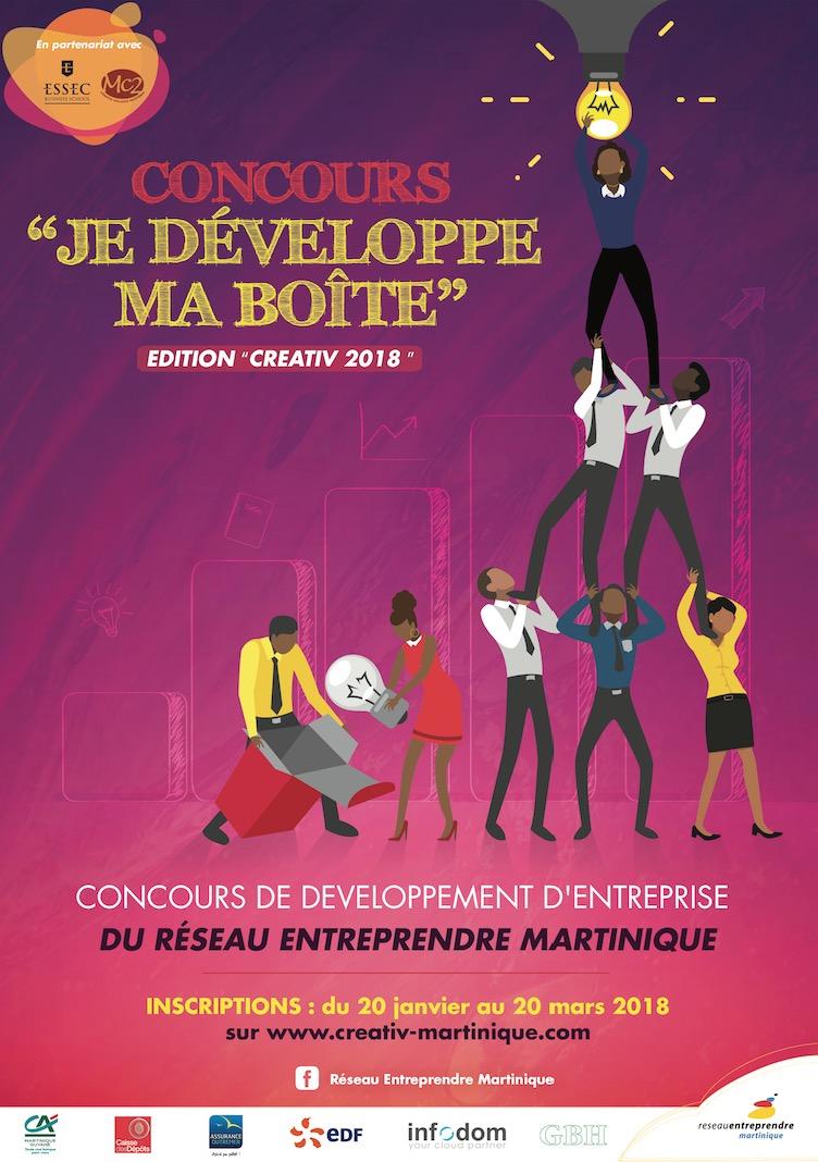 Réseau Entreprendre Martinique : Chefs d'entreprise,  participez au concours  « Je développe ma boîte »