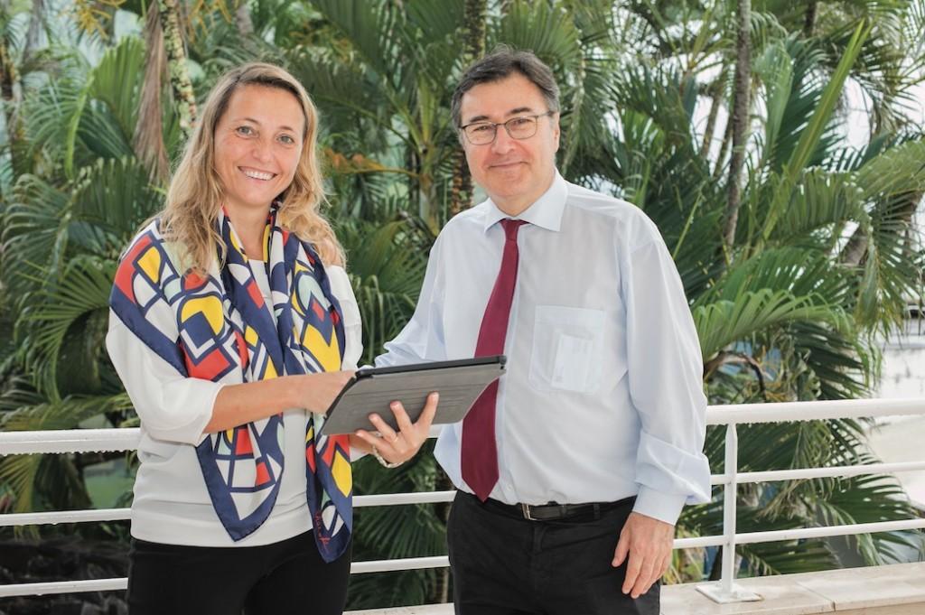 Olivier Klein de la BRED Martinique