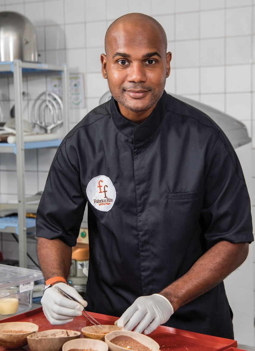 Fabrice Filin, artisan pâtissier-chocolatier