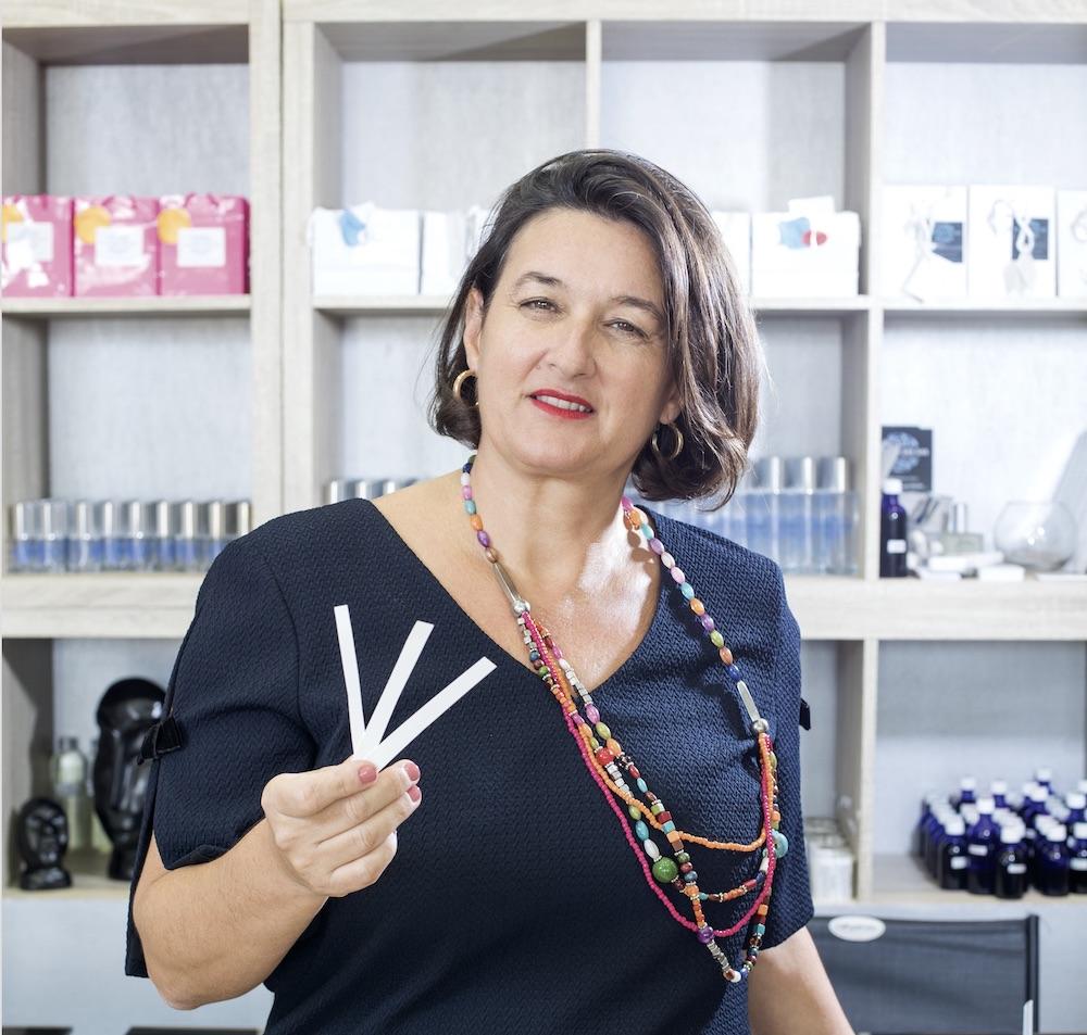 Véronicka Cormouls-Houles, ambassadrice du parfum de Martinique
