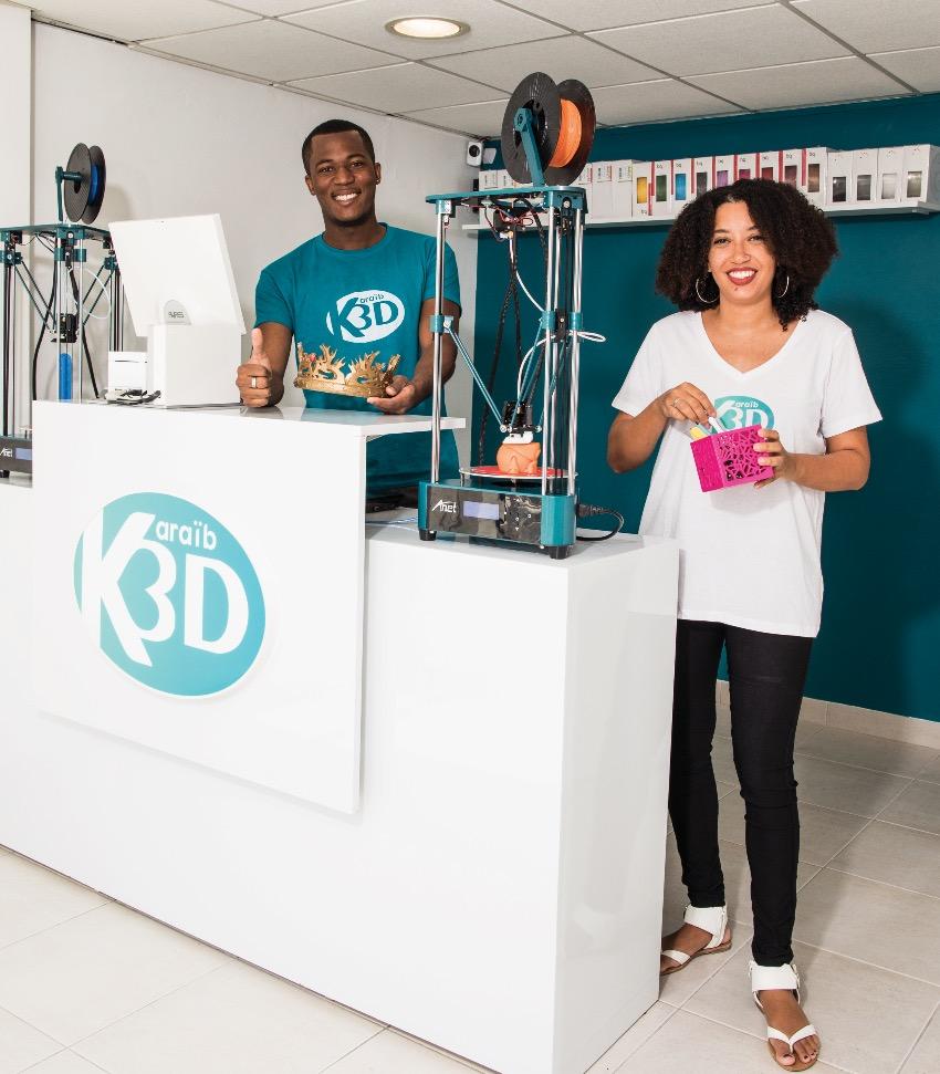 L'impression 3D au service des  particuliers et des professionnels